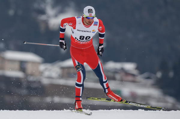 Photo: Petter Northug. Photo by Val di Fiemme 2013